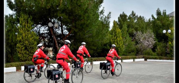 Περαιτέρω ανάπτυξη της Ποδηλατικής Ομάδας του Σώματος Εθελοντών Σαμαρειτών